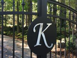Custom Designs Wrought Iron Gate