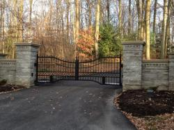 Electric Driveway Gate in Southern Ontario.