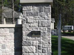 Gate Access Panel w/ Intercom in Orangeville.