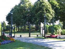 Custom Driveway Security Gate in Caledon