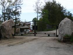 Automatic Security Gate in Stouffville